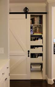 full size of interior small pantry room featuring a barn door amusing sliding for 19