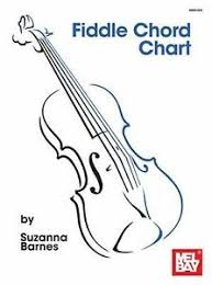 Details About Fiddle Chord Chart Major Minor Augmented Easy Beginner Violin Music Chart