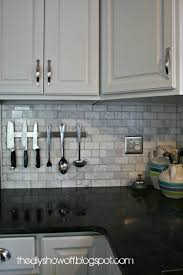 Backsplash Ideas For Black Granite Countertops Best DIY Show Off Awesome Blogger Projects Pinterest Kitchen