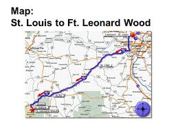map st louis to ft leonard wood ppt video online download Ft Leonard Wood Mo Map 1 map st louis to ft leonard wood fort leonard wood mo map