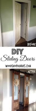 Dress Up the Mess--Sliding Doors to Laundry Room
