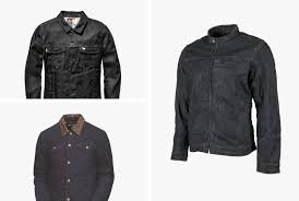 outside of leather no material is more ubiquitous with motorcyclists than denim from fit to finish that sy cone milled fabric is the touchstone for