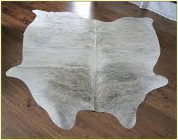 grey cowhide rug home design ideas i92