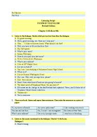 Essay in english for upsc pdf ielts essay on museums should be enjoyable places 19 essay english pdf covid in about in english covid essay 19 pdf about, essay on empower educate evolve, how to start a methodology for dissertation kunci jawaban essay bahasa inggris kelas 9 how to spend your money wisely essay describe yourself as a person essay. Doc 05 Listening Script Pathway To English 1 Wajib Cahaya Rembulan Academia Edu