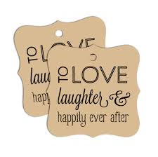 wedding favor tags 60 pk wedding favor tags, favours and wedding Wedding Messages Happily Ever After wedding favor tags variety messages bracket shape \