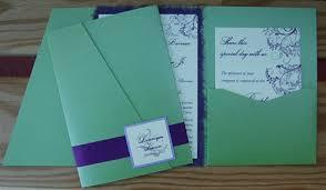 Wedding Invitation Folding How To Diy Pocket Invitations The Easy Way Cards Pockets Design