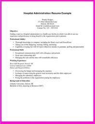 Resume Original No Experience Http Topresume Info Resume