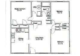 Three Bedroom Apartments Floor Plans Apartment Floor Plans 3 Bedroom