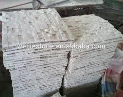 exterior stone tile exterior wall white stone mosaic tile split face white beige wall guocera outdoor exterior stone tile