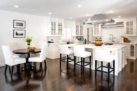 White kitchen dark wood floor Build In White Kitchen With Dark Wood Floors Vuexmo White Kitchen With Dark Wood Floors Transitional Kitchen