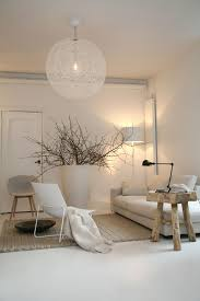 Salon Scandinave Confortable Living Warme Woonkamers Huis