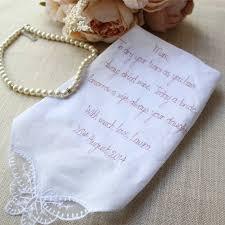 mother of the bride groom handkerchief