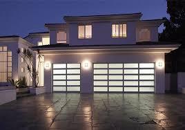 custom glass garage door installation