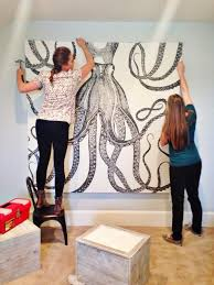 courtesy of making home base on make large wall art cheap with large scale wall art ideas that fill huge walls