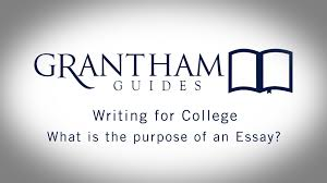 what is the purpose of an essay writing for college 1 2 what is the purpose of an essay writing for college 1 2