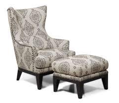 Charleston Antique Espresso Accent Chair & Ottoman from Simon Li