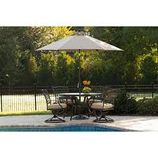 sunbrella sling dining chairs