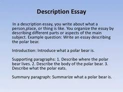descriptive essay place  descriptive essay place