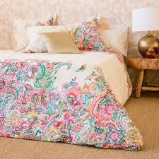 Paisley Bedroom Green Appliquac Cushion Zara Home Home And Duvet Covers