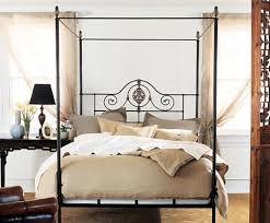 Umbria Low Foot Canopy Bed  Charles P Rogers Beds Direct Canopy Iron Bed