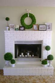 brick painting ideas10 Fireplace Before and After DIY Projects