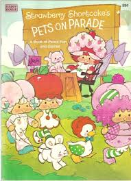 as you know i love love love strawberry shortcake i have a page with scans of almost 20 strawberry shortcake vine coloring books and activity books