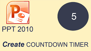 Countdown Clock For Powerpoint Presentation How To Create Countdown Timer In Microsoft Powerpoint 2010 Youtube
