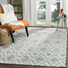 safavieh marbella handmade vintage diamond dark blue ivory wool rug 8 x 10 is a handmade rugs that is made from wool mainly use for indoor