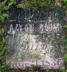 Aaron Clum (1814-1836) - Find A Grave Memorial
