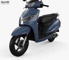3d Model Of Honda Activa 125 2019 3d Model Honda Model