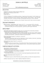 Sample Sorority Resume Impressive Layout Resume New Resume Example Template