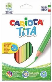 <b>Carioca набор цветных карандашей</b> Tita 36 цветов (42795 ...