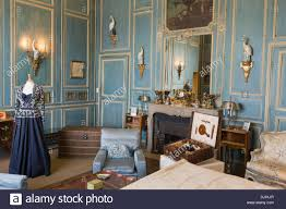 Lady Bedroom Leeds Castle Lady Baillies Blue Bedroom Stock Photo Royalty Free