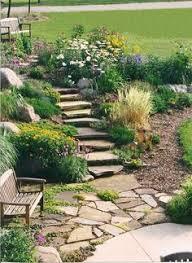 Small Picture I love corner rock gardens Gardening Pinterest Gardens