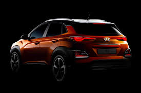 2018 hyundai kona suv. delighful suv 2018 hyundai kona was styled under the supervision of new design boss  luc donckervolke and hyundai kona suv