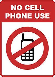 No Cellphones Sign Rome Fontanacountryinn Com