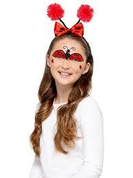 ladybug bee children makeup make up fx carnival schminke bug face color
