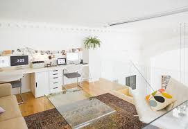 mezzanine apartment in edinburghs west end example of a large trendy formal open concept living room bellevue hill post office