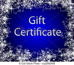 Image result for gift certificate stock images