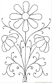 ✓ free for commercial use ✓ high quality images. Printable Flower Templates Coloring Home