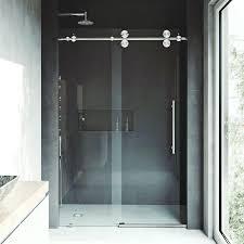 home depot frameless shower doors elan x single sliding shower door reviews with doors ideas 3