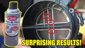 DOES MASS AIR FLOW SENSOR CLEANER ACTUALLY WORK? - YouTube