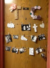 cool door decorations. Contemporary Decorations Use Washi Tape Which Isnu0027t Permanent To Create A Cool Design Like This  Giant U201cHellou201d With Cool Door Decorations N