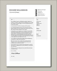 procurement manager cover letter 2