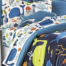 sea creatures comforter sheets from