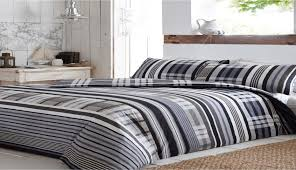 comforter bedding sets gray striped blue duvet covers black crib check sheets grey white and red