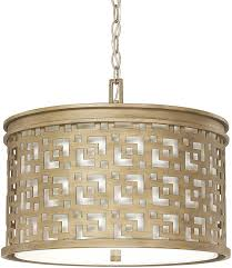capital lighting 4874bg 631 jasper brushed gold drum drop ceiling light fixture loading zoom