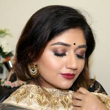 festive indian makeup for dusky skin