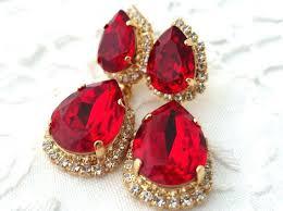 red chandelier earrings ruby red chandelier earrings red chandelier earrings red ruby earrings bridal ruby chandelier