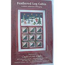 Amazon.com: Quakertown Quilts & Feathered Log cabin Christmas Quilt Pattern Quakertown Quilt Adamdwight.com